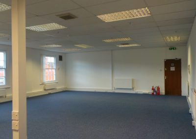 Unit 19G first floor, main office space.