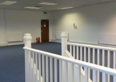 Unit 19G open plan office.