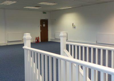 Unit 19G open plan office.