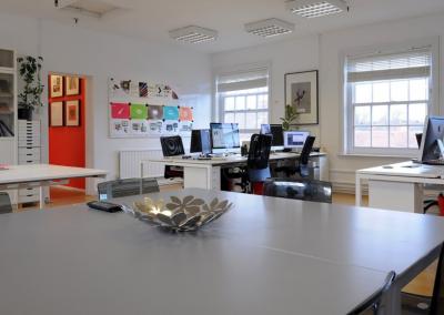 Unit 5, open plan office, first floor level.