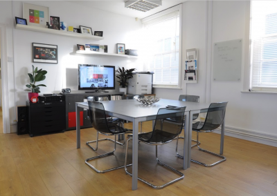 Unit 5, first floor, large open plan office.