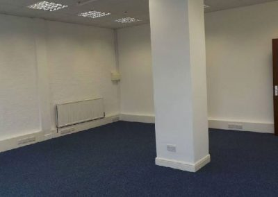 Unit 19B, mid size first floor office space.