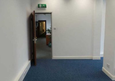Unit 19B, first floor office space.